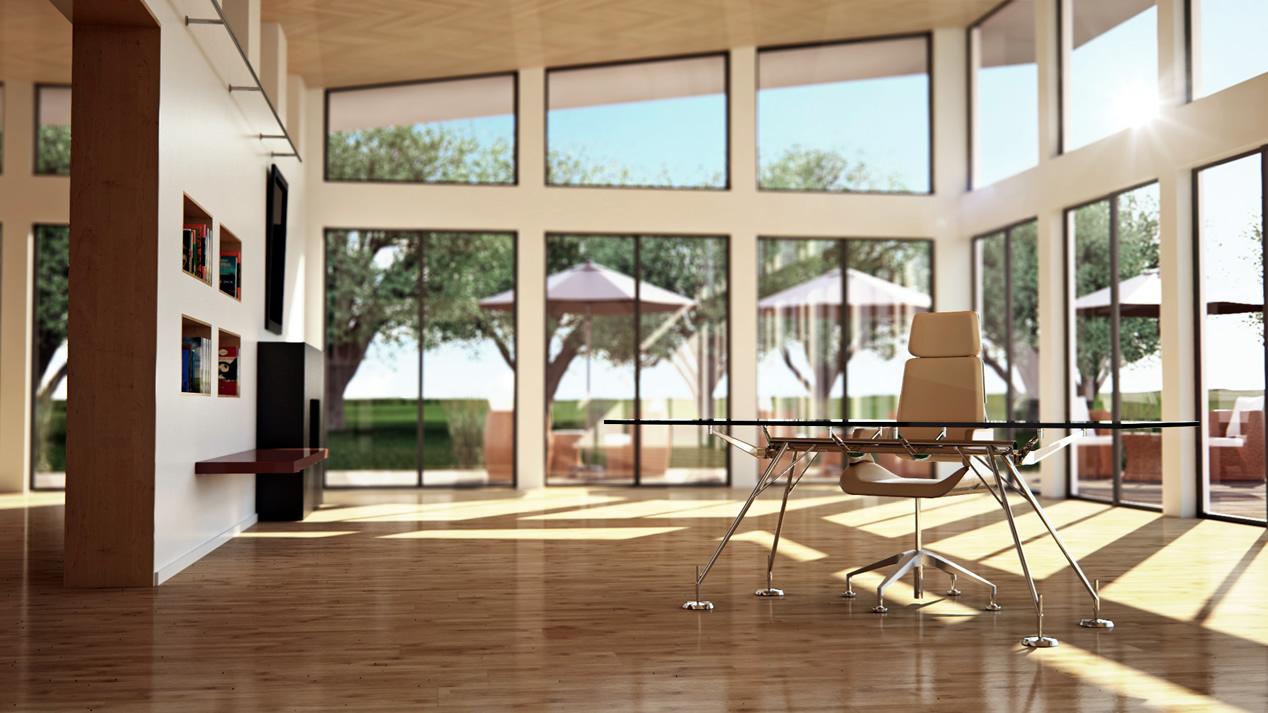 3D-Innenarchitektur-Interior-Design