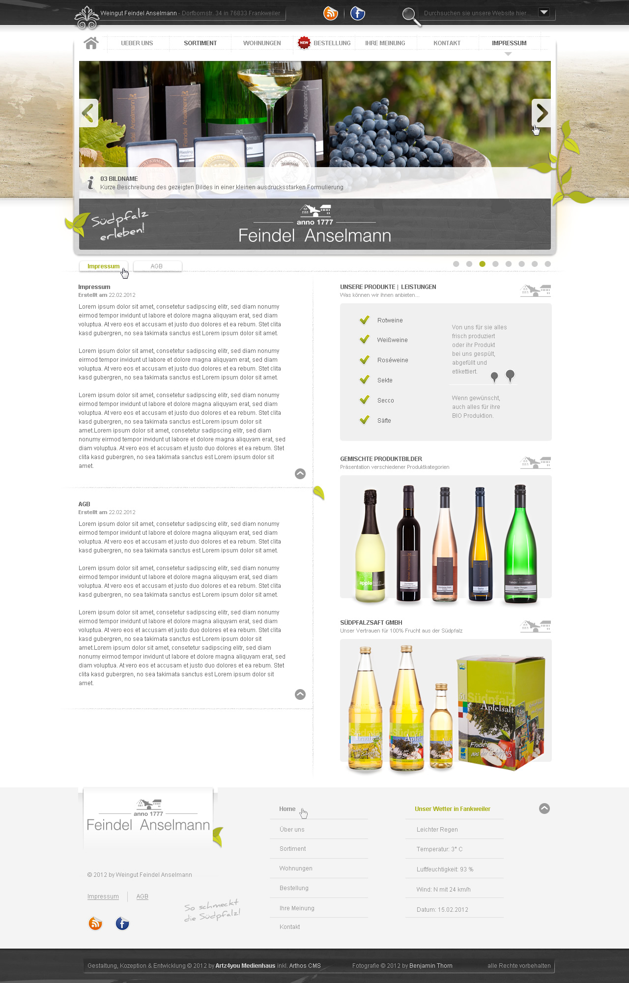 Impressum-AGB-Design Feindel Anselmann