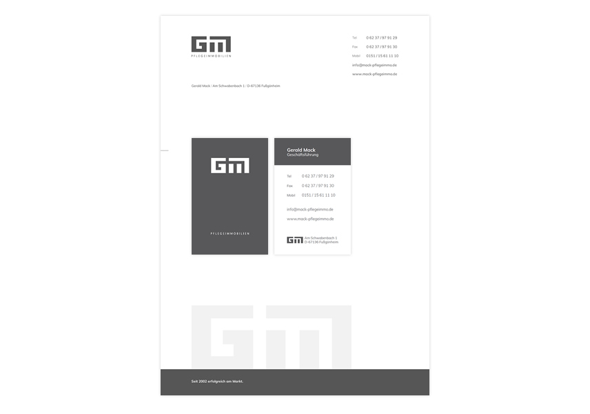 Printdesign Mack, Auszüge