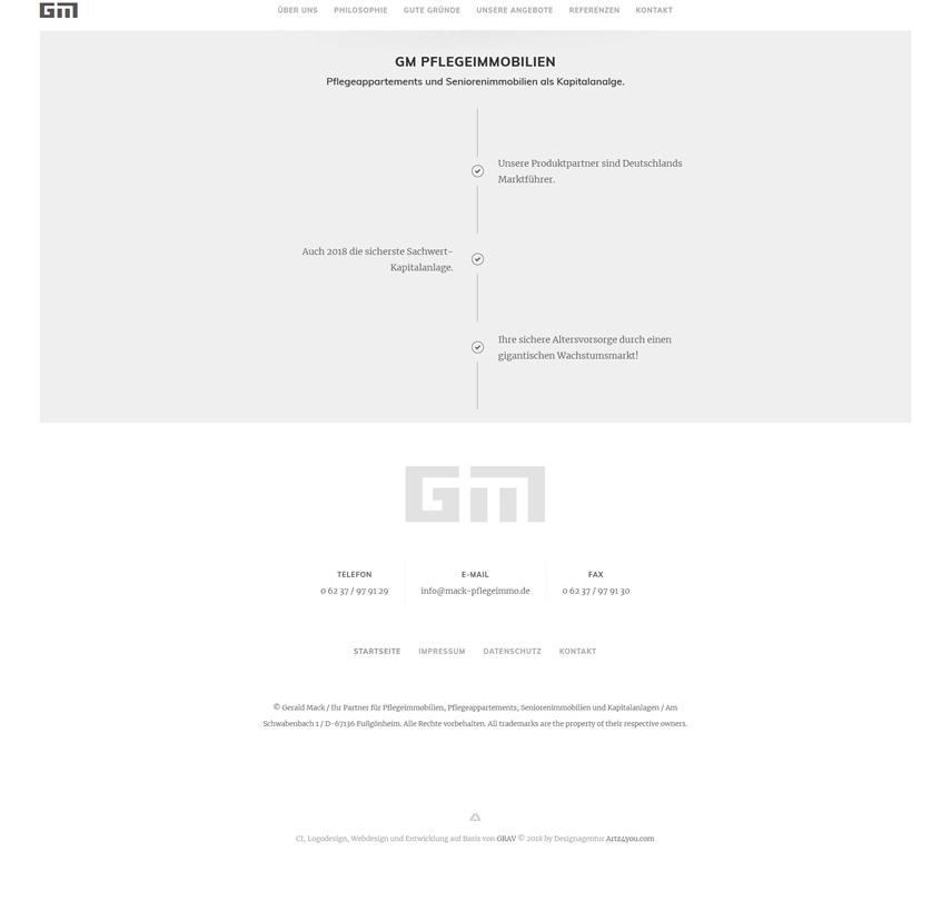 Webdesign-Unterseitendesign-Gerald-Mack