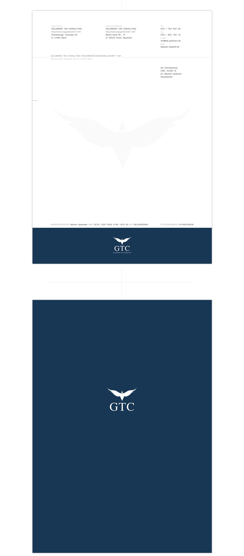 Rechnungspapier / invoice layout